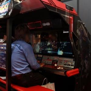 【AMショーレポート】注目の巨大横シューティングゲーム『ダライアスバースト』は90分待ち!