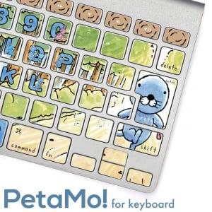 『ぼのぼの』仕様のゆる可愛いキーボードにカスタマイズ! こんなPCだったら和む [オタ女]