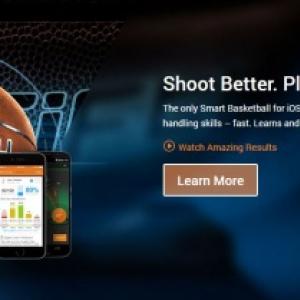 何でもスマート化すりゃいいってもんじゃないよ!(笑) スマートフォンと連動するバスケットボール『94Fifty Smart Sensor Basketball』