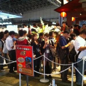 【東京ゲームショウ2010】モンスターハンターポータブル3rdのブースに大行列! 逆転検事2も