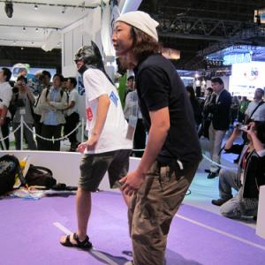 【東京ゲームショウ2010】Xbox 360の『キネクト』を遊んで来たぞ! 「ソニックになった気分は?」「疲れた……」