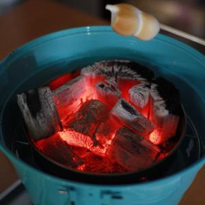 【外スイーツ】超コンパクト『パックアウェイグリル』を使って焼きマシュマロをふんわか焼いてみたよ