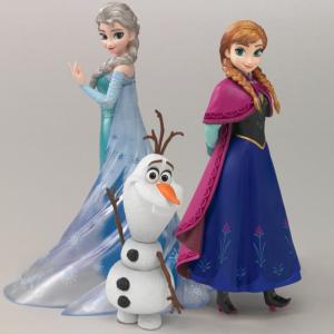 """エルサとアナが本格フィギュアに! """"アナ雪""""が『フィギュアーツ ZERO』シリーズに登場 [オタ女]"""