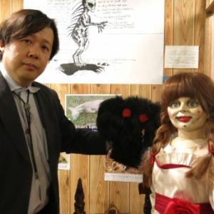 """死霊館の呪いの人形""""アナベル""""が『山口敏太郎の妖怪博物館』を偵察 ここで見られるオカルトな品々とは?"""