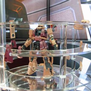 【全日本模型ホビーショー】発表したての『RG 1/144 MS-06S シャア専用ザク』が初公開