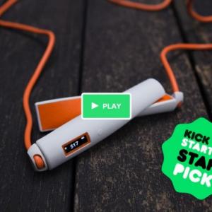 何でもスマート化すりゃいいってもんじゃないよ!(笑) スマートフォンと連動する縄跳び『Sophia – the smart skipping rope』