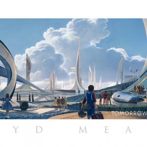 ディズニーの極秘プロジェクト『トゥモローランド』 コンセプトアートがあのテーマパークっぽい?