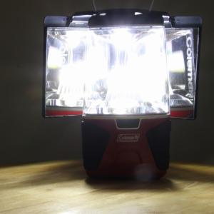火を使わずに超明るい! 『ミレニア LEDキャンプサイトランタン』はリフレクターも付いて使い勝手よし