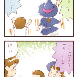 週末連載漫画「うらららら!」~ハロウィン!ハロウィン!!ハロウィン!!!