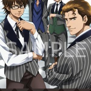 スーツ姿のメンバーが新鮮! 『ダイヤのA』描き下ろしデザイングッズが「AnimeJapan2015」で先行発売[オタ女]