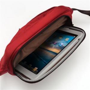 無敵の収納ツール『GRID-IT!』付き! シンプルに使いやすい『iPad』用メッセンジャーバッグ