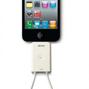 『iPad/iPhone』でワンセグ視聴できるチューナー『ちょいテレi』をバッファローが発売