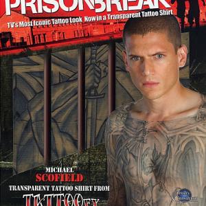 『プリズン・ブレイク』全身タトゥーを完全再現! 刺青シャツ&シール11アイテム登場