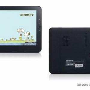 オンキヨーが『スヌーピー』生誕60周年記念オリジナルスレートPCを限定発売へ