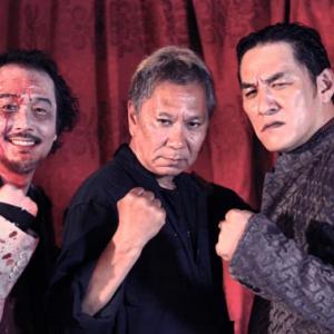 3人とも顔恐すぎッ! 『極道大戦争』でアクション初挑戦のリリー「興奮で眠れなかった」