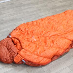 モンベルのバロウバッグ(寝袋)を試してみましたぞ