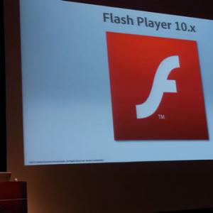 FlashのAndroid対応に注目集まる アドビが最新技術とトピックを紹介するイベント『Adobe MAX 2010 RETWEET』開催