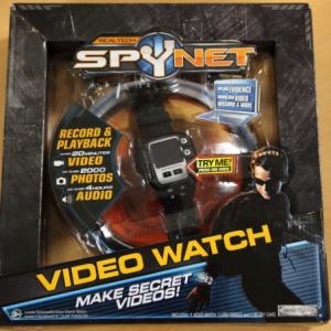 スパイの為の腕時計!? 『Spy Net Secret Mission Video Watch』は子どもへのプレゼントにピッタリ
