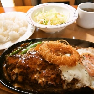 銀座のハンバーグを激安で食べられる店 @東京都立川市 『ナガタニ』