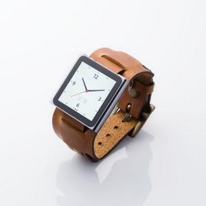 『iPod nano』が本革腕時計に! エレコムが専用ベルト2シリーズを発売へ