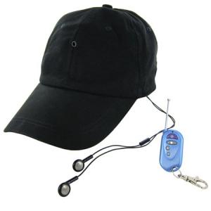 ビデオカメラ+音楽プレーヤー+Bluetoothハンズフリー通話可能な『マルチファンクション帽子』