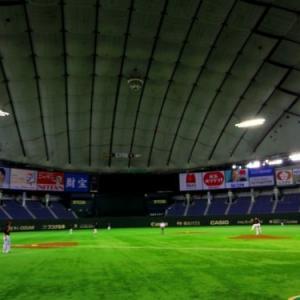 真夜中の東京ドームで草野球してきた