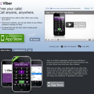 Viberが送信する情報のメモ