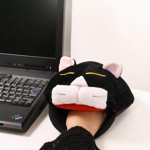 冷える指先をネコで温めよう 『USBあったかマウスパッド 猫たんモデル』