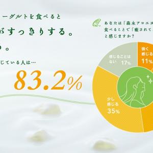 """8割の人が「癒される」と感じる『アロエヨーグルト』 その""""癒し""""を五感で体験する試食イベント開催へ"""