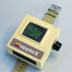 Apple Watchにレトロバージョン登場! 最新型なのに昔風の『Apple II Watch』がスゴイ