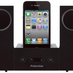『iPhone/iPod』専用 最大12Wのパワーアンプ&サブウーファー内蔵スピーカー『i-FLAP』