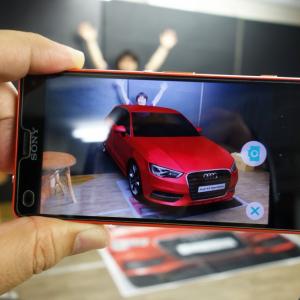 コイツはデカい! 世界最大の折込広告で実物大のクルマ『Audi A3 Sportsback』を出現させる『Audi Showroom Home Delivery』を体験してみた