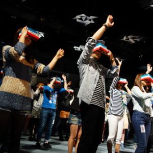 VR空間でアーティストが歌うMR(複合現実)ライブを体験できるトヨタ『MIXED REALITY LIVE!』 収録の舞台裏はこうだった
