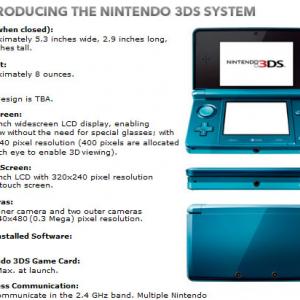 『ニンテンドー3DS』にリージョンコード導入か / 任天堂がメールで認めた!?