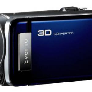 世界初 ビクターが両目の映像を1920フルハイビジョンで3D撮影するムービー『Everio GS-TD1』を発売へ