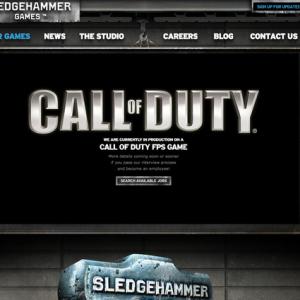 『Call of Duty』のもう一つの開発会社候補が判明! 公式サイトに詳細が記載