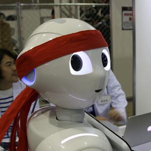 【超会議2015】『Pepper超アプリラボ』にPepperが参戦! ロボットアプリが簡単に開発できる未来がやってきた!