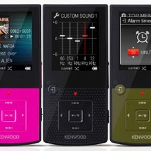 ケンウッドがmicroSD搭載メモリーオーディオプレーヤー『Media Keg MG-G508』を発売へ