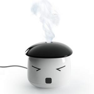 乾燥した空気をミストでうるおす コンパクトでキュートな超音波式USB加湿器『Sauna Boy』