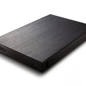 液晶テレビ背面に取付できる 録画/再生可能な超コンパクトなHDD『LaCie rikiki』