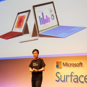 『Surface 3』個人向け販売は4G LTEモデルのみ 6月19日発売で価格は8万1800円から
