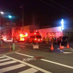 【交通事故】乗用車同士の接触事故・2名軽傷・2月5日1時30分頃・名古屋
