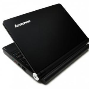 Lenovo(レノボ)のネットブック『IdeaPad S10e』に新色マットブラックが登場