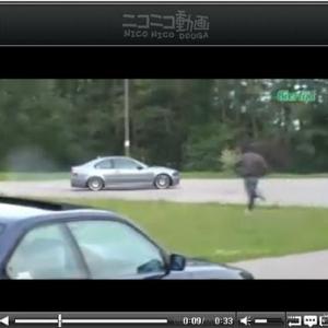 勝手に人の車でドリフトを決め、出てきた人物に驚愕!