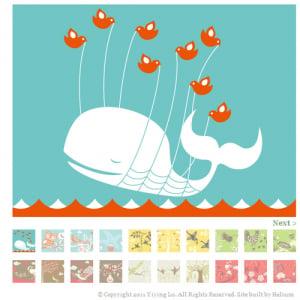 Twitterに使われているクジラの画像 なんとフリー素材だった!?