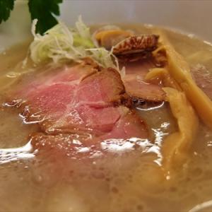 貝出汁にこだわった『貝塩』ラーメンを食す! @神奈川県相模原市『貝ガラ屋』