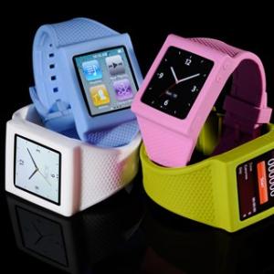 『iPod nano』が腕時計に変身! 使用感にこだわった『HEX Original watch band』