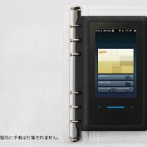 """インターネットにつながる""""手帳""""『WILLCOM NS』4月24日発売"""